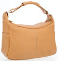 Luxury Accessories:Bags, Tod's Camel Leather Mikey Hobo Bag. ...
