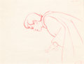 Animation Art:Production Drawing, Snow White and the Seven Dwarfs Prince Charming ProductionDrawing (Walt Disney, 1937)....