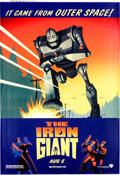 Memorabilia:Poster, The Iron Giant Bus Display Promotional Poster (WarnerBrothers, 1999)....