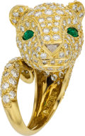 Estate Jewelry:Rings, Diamond, Emerald, Gold Ring, Hammerman Bros.. ...