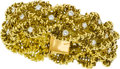 Estate Jewelry:Bracelets, Diamond, Gold Bracelet, French. ...