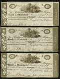 Obsoletes By State:Ohio, Mansfield, OH- The Richland & Huron Bank of Mansfield $3 (3)Dec., 1816 G14 Wolka 1541-08. ... (Total: 3 notes)