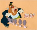 Animation Art:Production Cel, Alice in Wonderland Walrus Production Cel (Walt Disney,1951)....