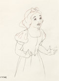 Animation Art:Production Drawing, Snow White and the Seven Dwarfs Production Drawing (WaltDisney, 1937)....