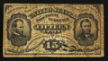 Fractional Currency:Third Issue, Fr. 1272SP 15¢ Third Issue Fantasy Piece Very Good.. ...