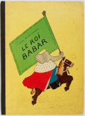 Books:Children's Books, Jean de Brunhoff. Le Roi Babar. Jardin des Modes, 1933.Large 4to. Shelfwear and soiling to the boards. Near fin...