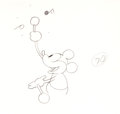 Animation Art:Production Drawing, Steamboat Willie Mickey Mouse Production Drawing (Walt Disney, 1928)....