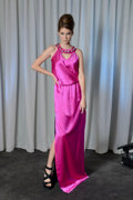 Art Glass:Daum, Abi Ferrin Dress. Benefiting The Dallas Opera. ...