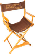 Movie/TV Memorabilia:Memorabilia, A Farrah Fawcett Director's Chair, 1970s....