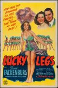 "Movie Posters:Musical, Lucky Legs (Columbia, 1942). One Sheet (27"" X 41""). Musical.. ..."