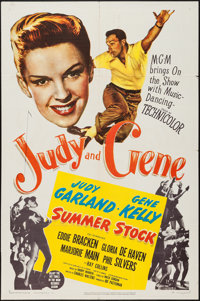"Summer Stock (MGM, 1950). One Sheet (27"" X 41""). Musical"