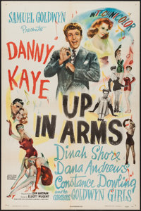 """Up in Arms (RKO, 1944). One Sheet (27"""" X 41""""). Comedy"""
