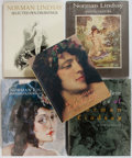 Books:Art & Architecture, [Norman Lindsay] Group of Five Books Related to Norman Lindsay. Various Publishers, [1969-2003]. Folio. Publisher's binding... (Total: 5 Items)