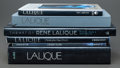 Art Glass:Lalique, SIX LALIQUE TABLE AND REFERENCE BOOKS. ... (Total: 6 Items)