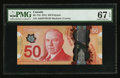 Canadian Currency: , BC-72a $50 2012. ...