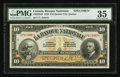 Canadian Currency: , Quebec, PQ- La Banque Nationale $10 Nov. 2, 1922 Ch. # 510-22-04S. ...