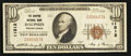 National Bank Notes:Pennsylvania, Dauphin, PA - $10 1929 Ty. 1 The Dauphin NB Ch. # 11512. ...