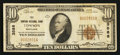 National Bank Notes:Maryland, Towson, MD - $10 1929 Ty. 1 The Towson NB Ch. # 3588. ...