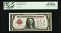 Error Notes:Miscellaneous Errors, Fr. 1500 $1 1928 Legal Tender Note. PCGS Choice New 63PPQ.. ...