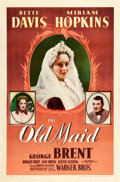 """Movie Posters:Drama, The Old Maid (Warner Brothers, 1939). One Sheet (27"""" X 41"""").. ..."""