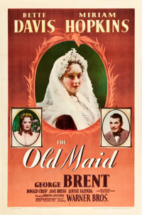 "The Old Maid (Warner Brothers, 1939). One Sheet (27"" X 41"")"
