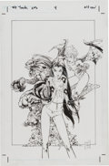 Original Comic Art:Covers, Tony Daniel The Tenth: Resurrected #4 Cover Original Art(Dark Horse, 2002)....