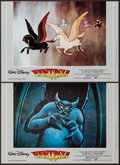 "Movie Posters:Animation, Fantasia (United International Pictures, R-1986). ItalianPhotobustas (7) (26.5"" X 18""). Animation.. ... (Total: 7 Items)"