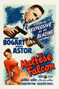 "Movie Posters:Film Noir, The Maltese Falcon (Warner Brothers, 1941). One Sheet (27"" X 41"")....."