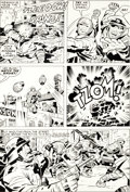 Original Comic Art:Panel Pages, Jack Kirby and D. Bruce Berry Our Fighting Forces #152 Page9 Original Art (DC, 1974)....