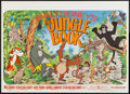 "Movie Posters:Animation, The Jungle Book (Buena Vista, R-1975). British Quad (30"" X 40""). Animation.. ..."