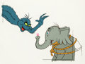 Animation Art:Production Cel, Dr. Seuss' Horton Hears a Who Production Cel Set-Up (MGM,1970).... (Total: 3 Illustration Art)