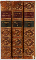 Books:World History, [Holland] John Lothrop Motley. The Ride of the Dutch Republic. London: Routledge, 1869. Three small octavo ... (Total: 3 Items)