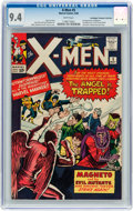 Silver Age (1956-1969):Superhero, X-Men #5 Don/Maggie Thompson Collection pedigree (Marvel, 1964) CGC NM 9.4 White pages....