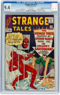 Silver Age (1956-1969):Superhero, Strange Tales #115 Don/Maggie Thompson Collection pedigree (Marvel, 1963) CGC NM 9.4 White pages....