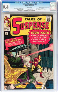 Tales of Suspense #50 Don/Maggie Thompson Collection pedigree (Marvel, 1964) CGC NM 9.4 White pages