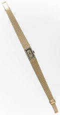 Timepieces:Wristwatch, Andre Palilet 14k Gold Lady's Wristwatch. ...