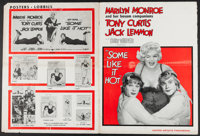 """Some Like It Hot (United Artists, 1959). Uncut Pressbook (20 Pages, 13.5"""" X 18""""). Comedy"""