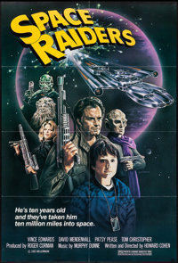 """Space Raiders (New World, 1983). One Sheet (27"""" X 41""""). Science Fiction"""