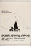 "Movie Posters:Comedy, The Graduate (Embassy, 1968). Poster (40"" X 60""). Comedy.. ..."