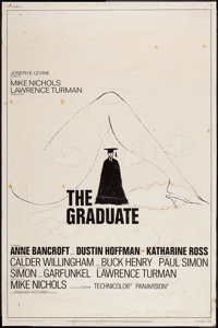 """The Graduate (Embassy, 1968). Poster (40"""" X 60""""). Comedy"""