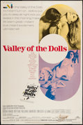 "Movie Posters:Exploitation, Valley of the Dolls (20th Century Fox, 1967). Poster (40"" X 60"").Exploitation.. ..."