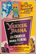 "Movie Posters:Adventure, Yankee Pasha & Other Lot (Universal, 1954). Silk Screen Poster& Custom Poster (40"" X 60"") Style Z & Regular. Adventure..... (Total: 2 Items)"
