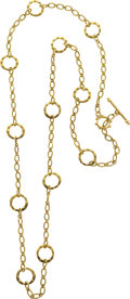 Estate Jewelry:Necklaces, Gold Necklace, Emily Armenta. ...