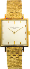 Estate Jewelry:Watches, Vacheron & Constantin Gentleman's Gold Wristwatch. ...