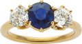 Estate Jewelry:Rings, Sapphire, Diamond, Gold Ring, early 20th century. ...