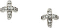 Estate Jewelry:Earrings, Diamond, Platinum Earrings, Tiffany & Co.. ...