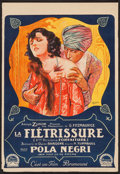 "Movie Posters:Drama, The Cheat (Paramount, 1923). French Petite (14.25"" X 22.75"").Drama.. ..."