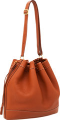 Luxury Accessories:Bags, Hermes Etrusque Clemence Leather Market Tote Bag with GoldHardware. ...