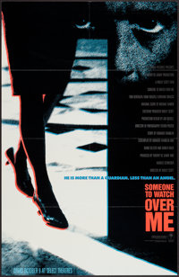 """Someone to Watch Over Me (Columbia, 1987). One Sheet (25"""" X 39"""") Advance. Thriller"""