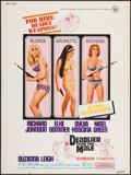 "Movie Posters:Bad Girl, Deadlier Than the Male (Universal, 1967). Poster (30"" X 40""). BadGirl.. ..."